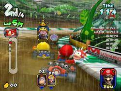 DK Jungle Mario Kart Arcade GP