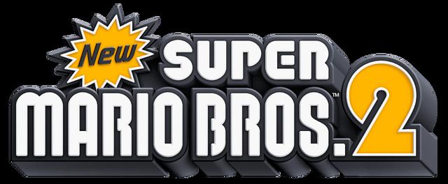 image - logo - new super mario bros. 2 | mariowiki | fandom