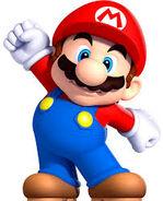 Petit Mario dans New Super Mario Bros. (Wii)