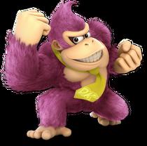 Art Donkey Kong rose Ultimate