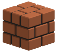 Brick Block 3D