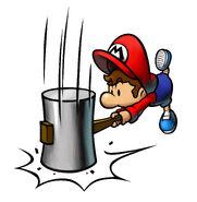 M&L2 Artwork Baby Mario 2