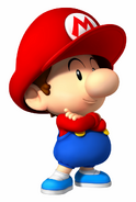 MSS Artwork Baby Mario