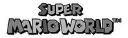 Sprite-Super Mario World-Logo
