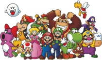 Club Nintendo art groupe