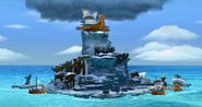 DKCTF Screenshot Donkey Kong-Insel (Insel)