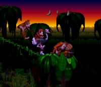 DKC Screenshot Affenbande