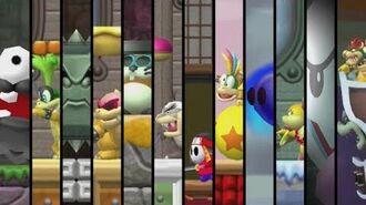 Newer Super Mario Bros. Wii - All Bosses