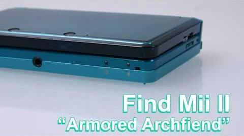 Find Mii II-Armored Archfiend