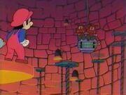 Mario-Anime Bowsers Festung Gumba