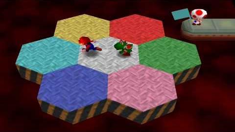 Mario Party 2 Mini Games - Hexagon Heat