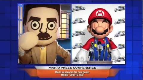 Mario Sports Mix Press Conference