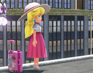 Princess Peach, in New Donk Citty