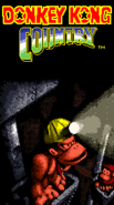 Title Screen - Caverns - Donkey Kong Country (Colour)