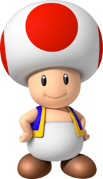 Toad, New Super Mario Bros. Wii