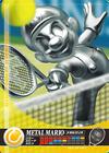 Carte amiibo Mario de métal tennis