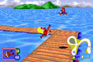 Dixie and Diddy - Beach Race - Diddy Kong Pilot (2001)