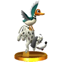 Duo Duck Hunt (alternatif) - SSB3DS (trophée)