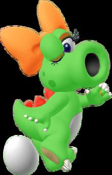Green birdo
