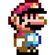 Petit Mario dans Super Mario World
