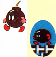 Bob-omb artwork SMB2