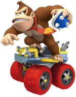 MK7 Artwork Donkey Kong