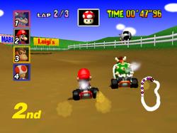 Moo Moo Farm Mario - Mario Kart 64
