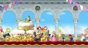New Super Mario Bros Wii Cumpleaños de Peach