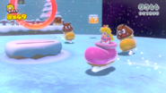 Patin à glace Peach