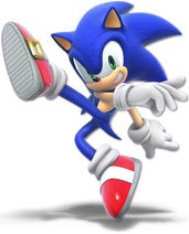 Smash Ultimate Sonic