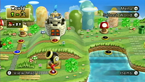 World 1 Cannon New Super Mario Bros Wii Mariowiki Fandom