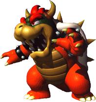 Art Bowser Mario 64