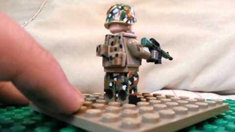 Custom lego US marine-0