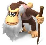 DKCTF Artwork Cranky Kong