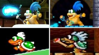 Evolution of - Larry Koopa In Super Mario Bros. Games