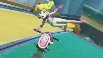 Mario Kart 8 Deluxe - 150cc Triforce Cup Grand Prix (Peach Gameplay)