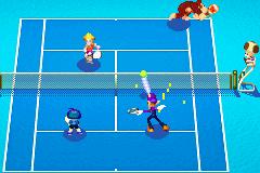 Mario Power Tennis partido