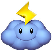 Nube rayo