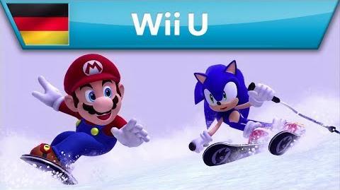 Mario & Sonic bei den Olympischen Winterspielen Sotschi 2014 - Launch Trailer (Wii U)