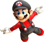 Red mario ssbb-style