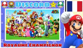Royaume Champignon Serveur Discord Mario