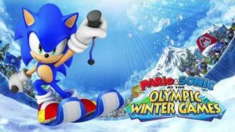 Sonic Voice Clips Mario & Sonic at the Olympic Winter Games