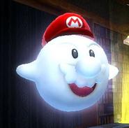 Mario Boo. esenario