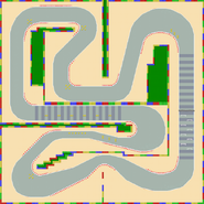 Circuit Mario 4 - MKSC (parcours)