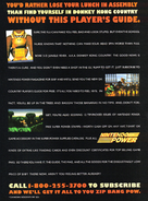 DKC Player Guide Advert (Nintendo Power)