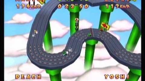 Mario Party 2- Rennbahn (Slot Car Derby) -V2-