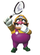 Mario Tennis - Wario Artwork