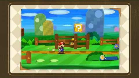 Paper Mario 3DS HD Trailer