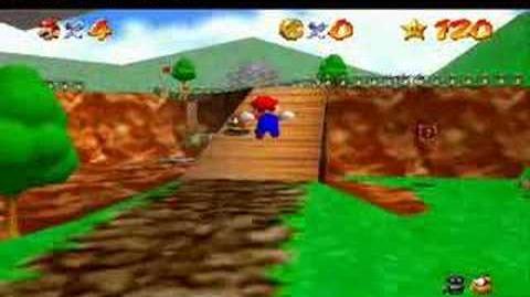 Super Mario 64 - BOB - Behind Chain Chomp's Gate 13