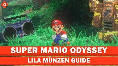 Super Mario Odyssey- Alle Sammelobjekte (lila Münzen - Forstland) - Collectible Locations Guide